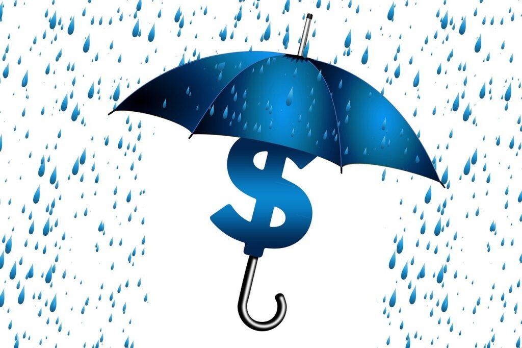 umbrella, economy, sure